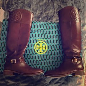 Tory Burch- Marlene Riding Boot- Size 6